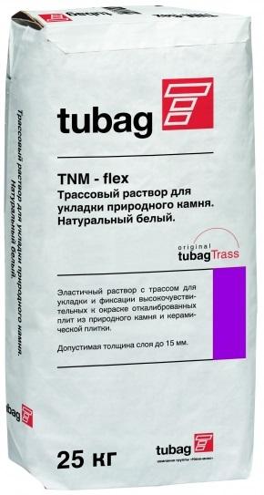Quick-Mix Клей для природного камня, брусчатки, клинкерной плитки TNM-flex, белый, 25 кг
