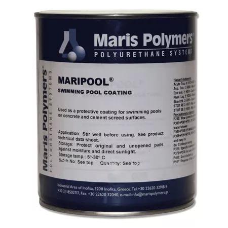Марисил Гидроизоляция для бассейна, фонтана, пруда, водных каналов Maripool, 5 кг - однокомпонентное пигментрованное защитное покрытие, специально разработанное для непосредственного контакта с водой и химическими веществами бассейнов