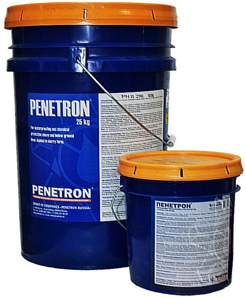 Проникающая гидроизоляция ПЕНЕТРОН - гидроизоляция бетонных поверхностей